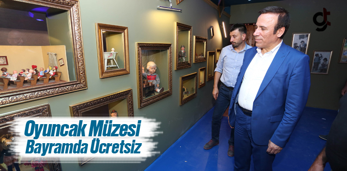 Canik Oyuncak Müzesi Bayramda Ücretsiz