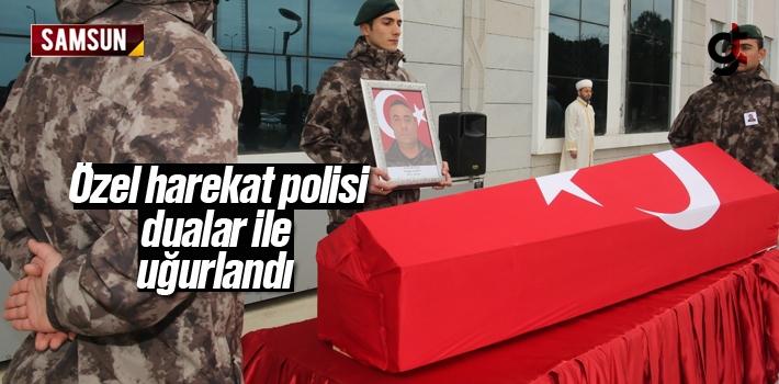Özel Harekat Polisi Turgay Şeren Dualarla Uğurlandı