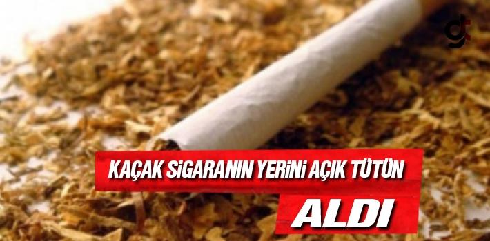 Palandöken, Kaçak Sigaranın Yerini Açık Tütün...
