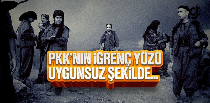 PKK'lı Teröristler Uygunsuz Bir Şekilde Yakalanınca