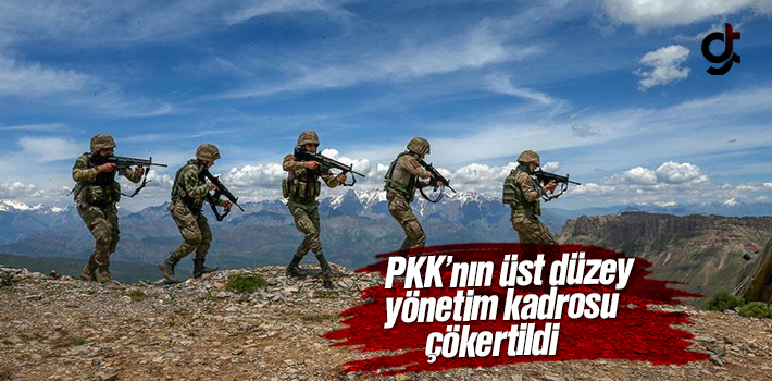 PKK'nın Üst Düzey Yönetim Kadrosu Çökertildi