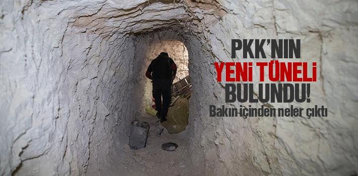 PKK'nın Yeni Tüneli Bulundu