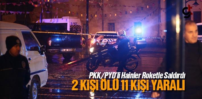 PKK/PYD'li Teröristler Camiye Roketatar İle Saldırdı