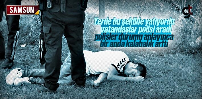 Polisler Gerçeği Anlayınca Bir Anda Kalabalık...