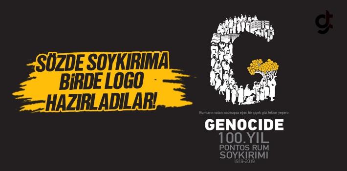 Pontus Soykırımı Yalanı İçin 100. Yıl Logosu...