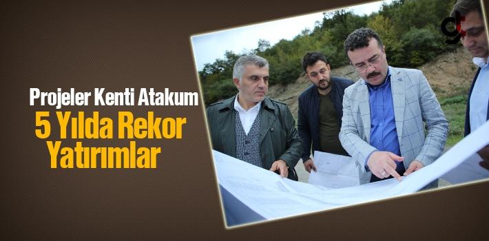 Projeler Kenti Atakum'da 5 Yılda Rekor Yatırımlar...