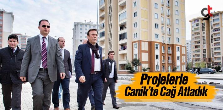 Projelerle Canik'te Cağ Atladık