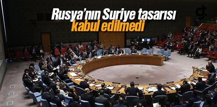 Rusya'nın Suriye Tasarısı NATO'da Kabul Edilmedi