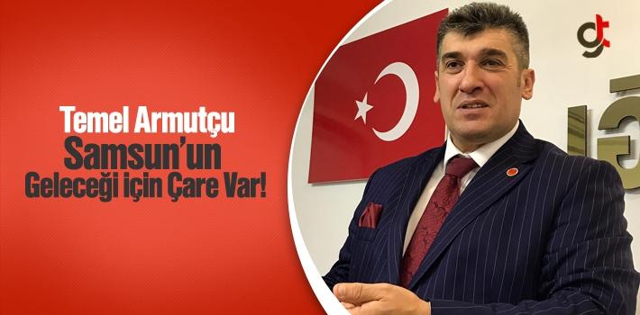 Saadet Partisi Samsun İl Başkanı Temel Armutçu,...
