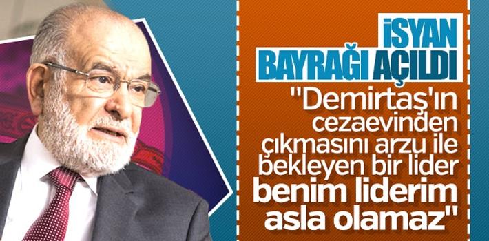 Saadet Partisi'nde Demirtaş istifası