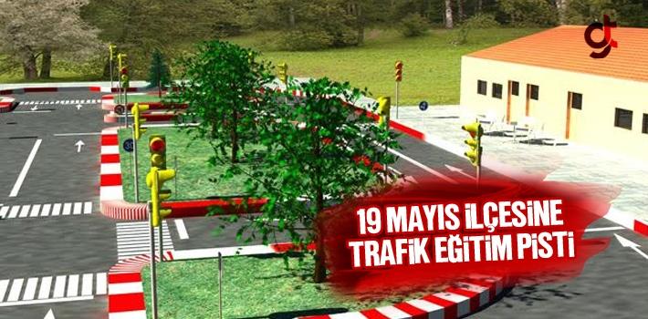 Samsun 19 Mayıs İlçesine Çocuk Trafik Eğitim...