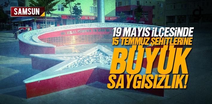 Samsun 19 Mayıs İlçesinde 15 Temmuz Şehitlerine...