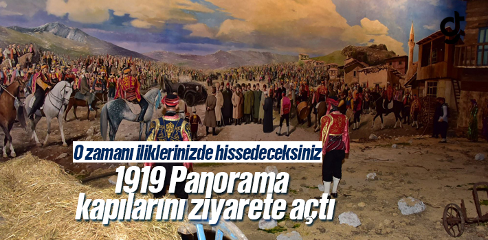 Samsun 1919 Panorama Ziyarete Açıldı, 1919 Panorama...