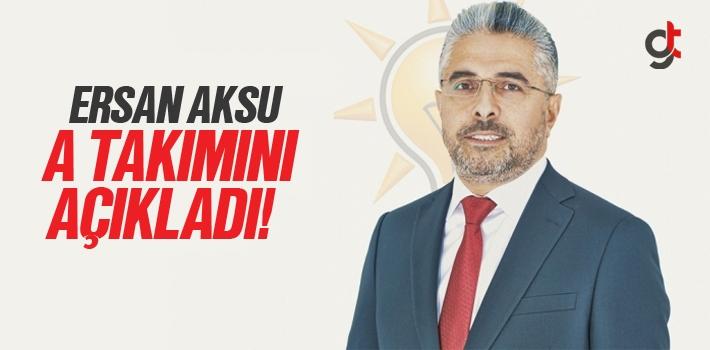 Samsun AK Parti'de Görev Dağılımı Belli Oldu