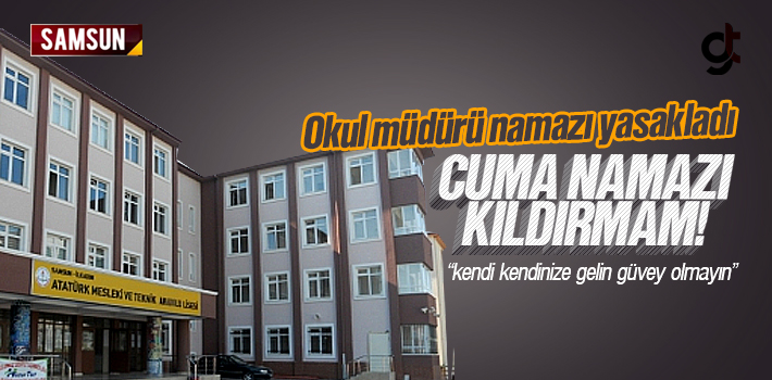 Samsun Atatürk Mesleki ve Teknik Anadolu Lisesi Müdürü...