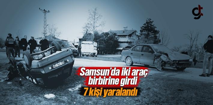 Samsun Çarşamba'da Trafik Kazası