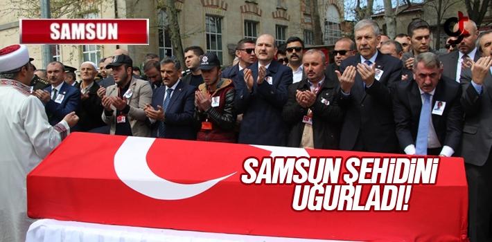 Samsun Çarşambalı Şehit polis Mehmet Ayan son...