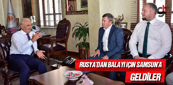 Samsun Haber: Başkan Yılmaz, Rusya'dan Balayı İçin...