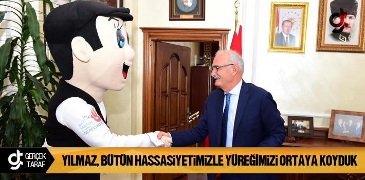 Samsun Haber: Başkan Yılmaz Bütün Hassasiyetimizle...