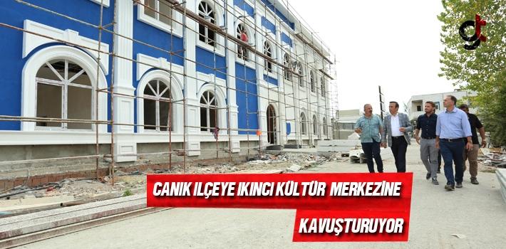 Samsun Haber: Canik İlçeye İkinci Kültür Merkezine...