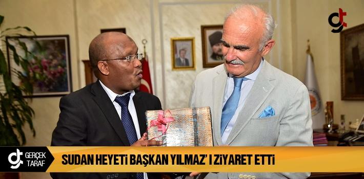 Samsun Haber: Sudan Heyeti Başkan Yılmaz'ı Ziyaret...
