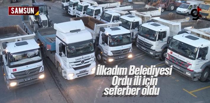 Samsun İlkadım Belediyesi, Ordu'da ki Sel Felaketi...