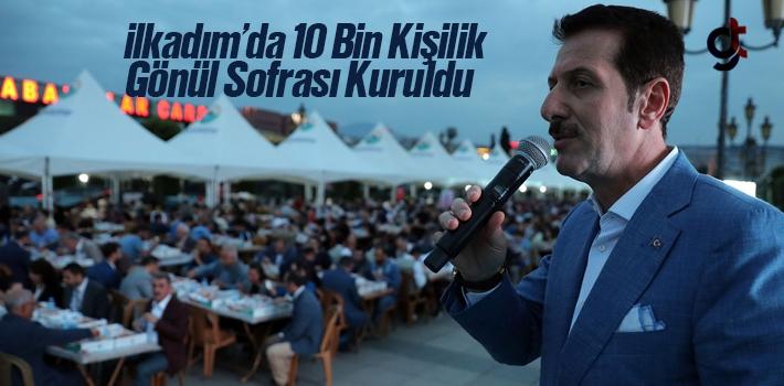 Samsun İlkadım'da 10 Bin Kişilik İftar Sofrası...