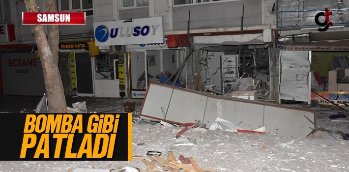Samsun İlyasköy'de Doğalgaz Bomba Gibi Patladı