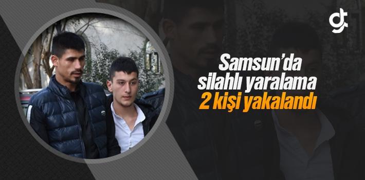 Samsun İlyasköy'de Silahlı Yaralamada 2 Kişi Yakandı