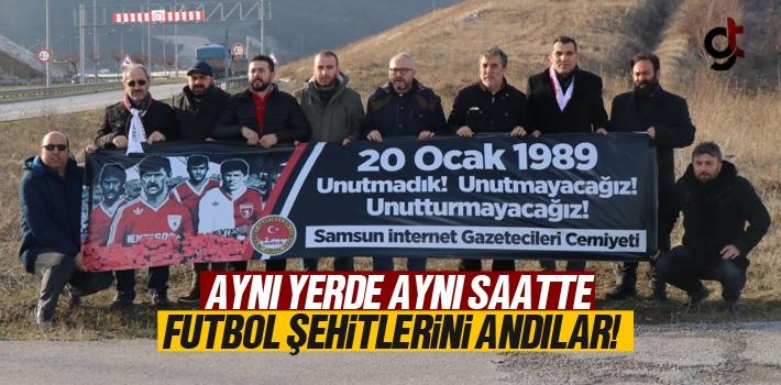 Samsun İnternet Gazetecileri Cemiyeti Samsunspor...