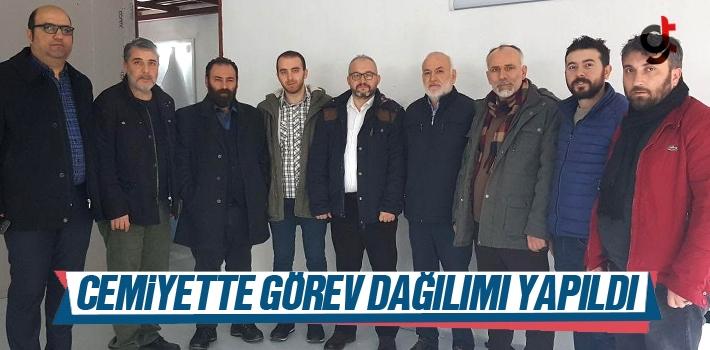 Samsun İnternet Gazetecileri Cemiyeti'nde Görev...