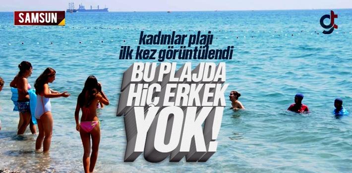 Samsun Kadınlar Plajı ( Fener Plajı ) İlk Kez...