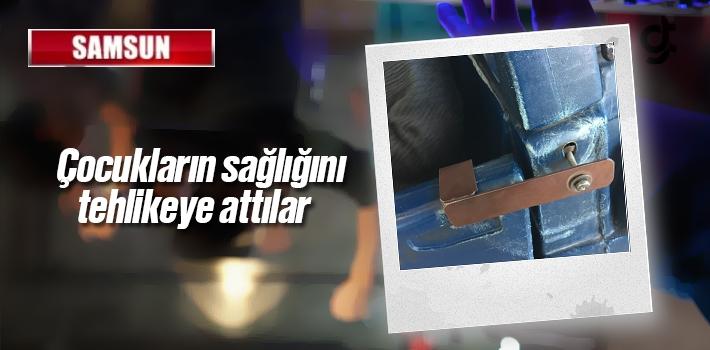 Samsun Migros'ta Paslı Market Arabaları Mikrop...