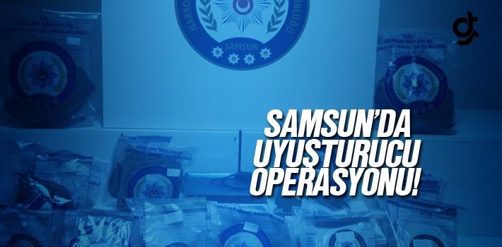 Samsun Salıpazarı'nda Uyuşturucu Operasyonu