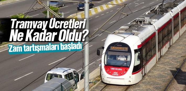 Samsun Tramvay Ücretleri 2016- 2017