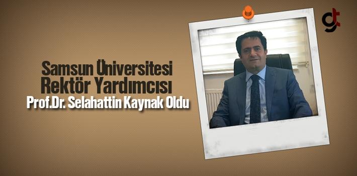 Samsun Üniversitesi Rektör Yardımcısı Prof. Dr....