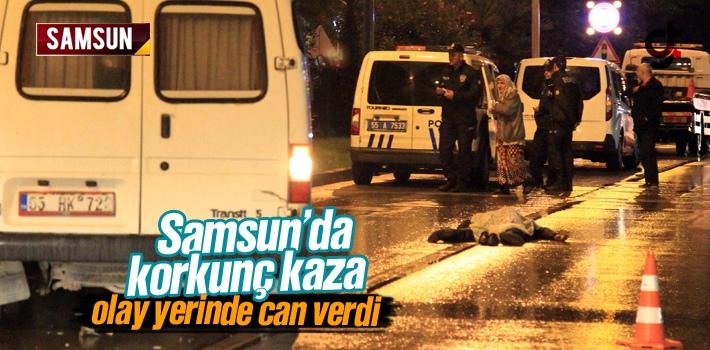 Samsun Valiliği Önünde Korkunç Kaza 1 Ölü 1...