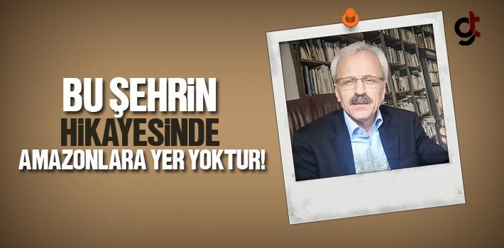 Samsun Yazarlar Derneği Başkanı Ahmet Seven, Bu...