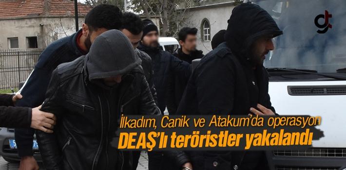 Samsun'da 13 DEAŞ'lı Terörist Gözaltında