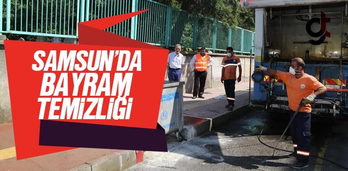 Samsun'da Bayram Temizliği