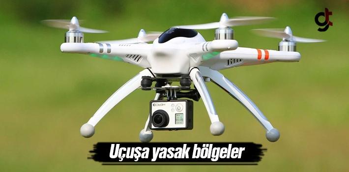 Samsun'da Drone Helikopteri Uçuşa Yasak Bölgeler....