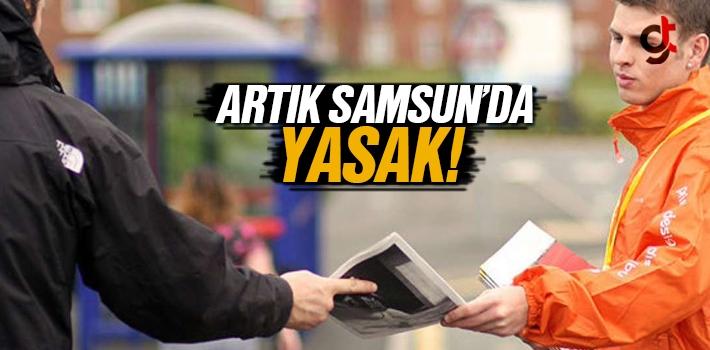 Samsun'da El İlanı, İnsert, Broşür İzinsiz Dağıtımı...