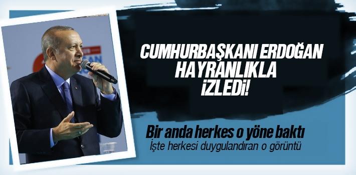 Samsun'da Erdoğan'ı Duygulandıran Koreografi