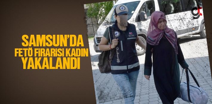 Samsun'da FETÖ Firarisi Kadın Yakalandı