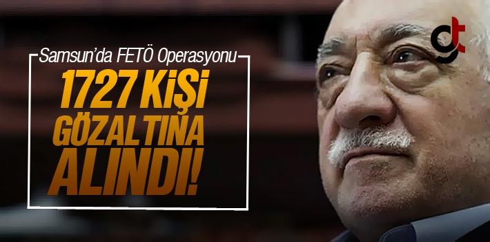 Samsun'da FETÖ Operasyonlarında Tutuklama Sayısı