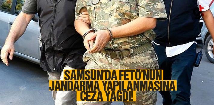 Samsun'da FETÖ'nün Jandarma Yapılanmasına Ceza...