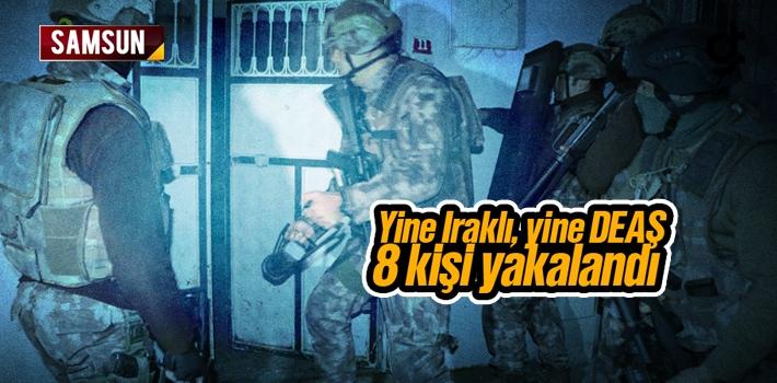 Samsun'da Irak Uyruklu DEAŞ Terör Örgütü Üyesi...