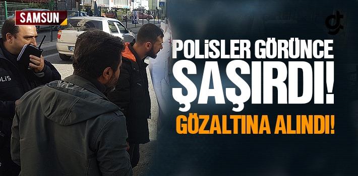 Samsun'da İşitme Engelli Genç Gözaltına Alındı