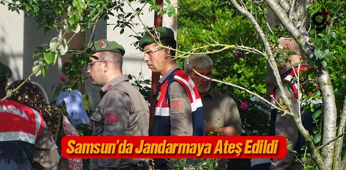 Samsun'da Jandarmaya Ateş Edildi