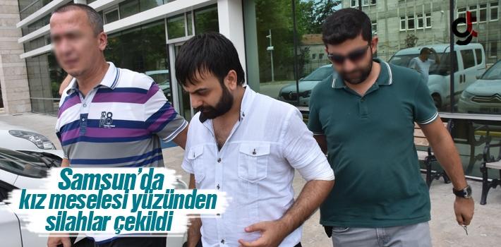 Samsun'da Kız Meselesi Yüzünden Silahlar Çekildi...